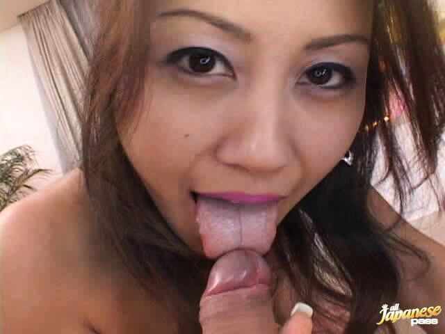 Nana Nanami used as a cum dumpster in a POV fuck flic